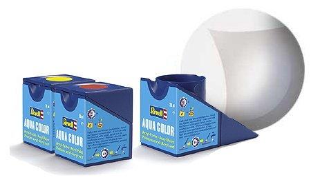 Revell-Farblos-Matt-Aqua-Color-Farbe-18ml-Acrylfarbe-fr-den-Modellbau-36102-mit-Gizzmoheaven-Aufkleber