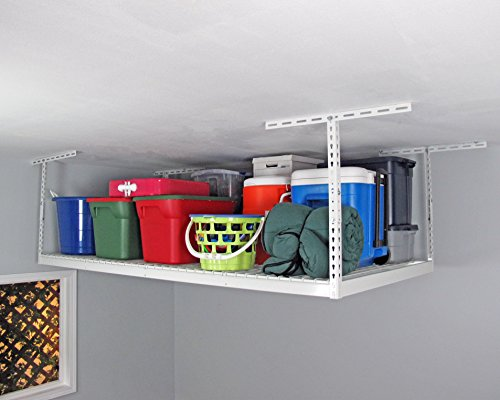 SafeRacks - 4x8 Overhead Storage Rack Heavy Duty (24-45