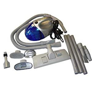 Dirt Bullet 800w handheld vacuum cleaner and blow system