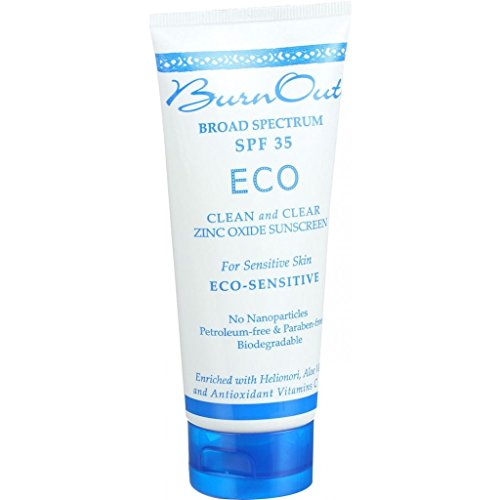 Burn Out Sunscreen - Eco Sensitive - SPF 35 - 3 oz (Tanning Stickers Variety Pack compare prices)