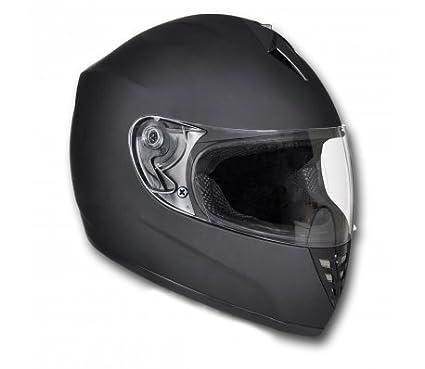 Casque Intégral Moto Noir Taille L