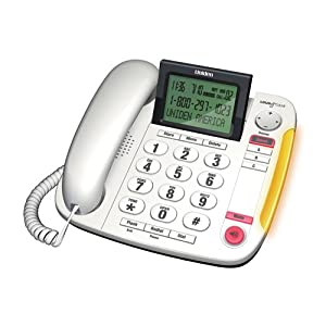 Uniden Big Button Desktop Corded Phone - (CEZ260 W)