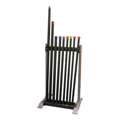 Body Solid Compact & Stable Fitness Bar Rack Détient 30+ Fitness Barres (48x26x6in)-afficher Le Titre D'origine