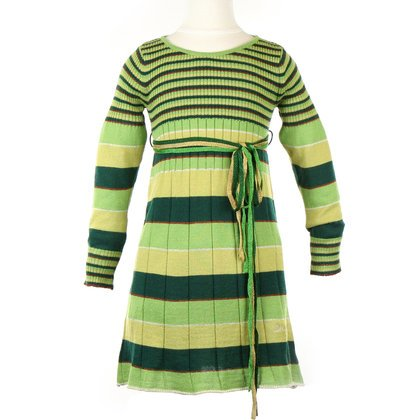 41QfGUWP8%2BL Miss Sixty Green Knitted Dress