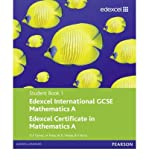 img - for Edexcel International GCSE Mathematics A Student Book 1 with ActiveBook CD (Edexcel International GCSE) (Mixed media product) - Common book / textbook / text book