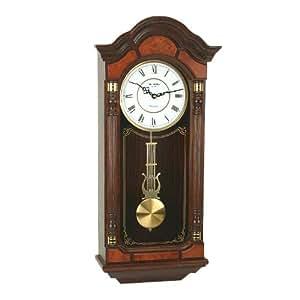Widdop bingham co orologio a pendolo a muro con for Orologio legno amazon