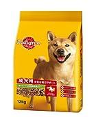ペディグリー 成犬用 ビーフ&緑黄色野菜入り 12kg (PD4)