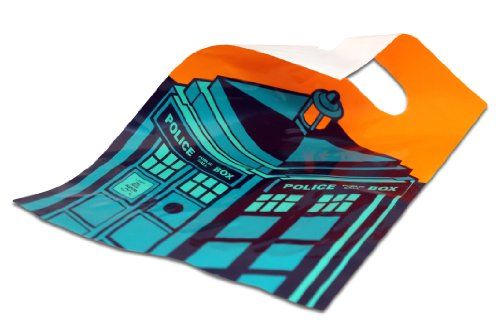 Official Doctor Who Party Ware - Tardis Party Loot Bags 6 Pack