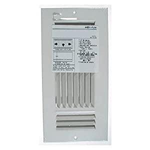 American Metal 383W12X6R 12-Inch X 6-Inch Ceiling Diffuser Grille (White)