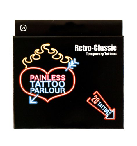 Retro Classic Painless Tattoos