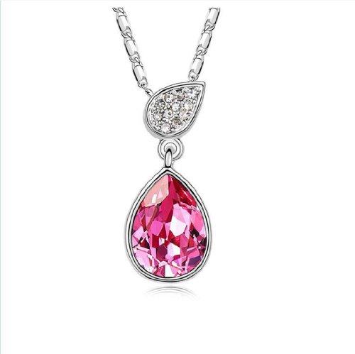 Boxingcat Fine Jewelry Swarovski Style Clear Austrian Crystal Pendant Necklaces Bgca8139 front-937716
