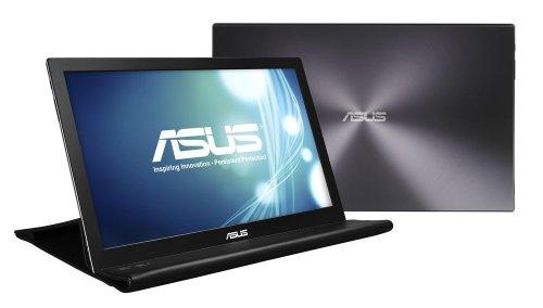 ASUS MBシリーズ 15.6型 ワイド フルHD USB ディスプレイ ( 1920×1080 / TNパネル / 11ms / ダークシルバー ) MB168B+