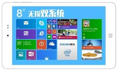 CHUWI Hi8 8インチ(1920*1200)タブレット DualOS(windows/android) ストレージ32G メモリー 2GB
