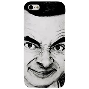 Xcase Mr.Bean Back Case for iPhone 4 / 4S (Black)