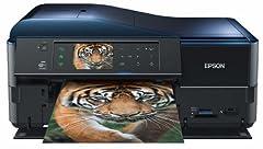 Epson Stylus PX830FWD Multifunktionsgerät (WiFi, Ethernet, Drucker, Scanner, Kopierer, Fax, Duplex) schwarz ab 169,- Euro inkl. Versand