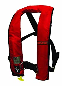 Revere ComfortMax Auto - Inflatable Lifevest with Harness PFD by Revere