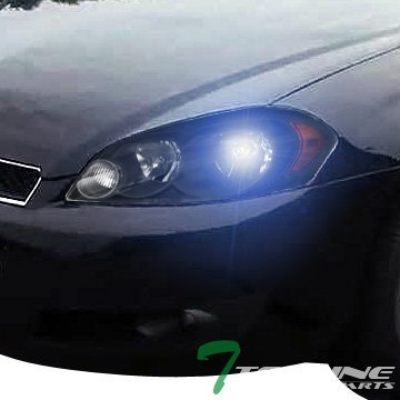 Topline Autopart 8000K HID Xenon + Black Head Lights Lamps Headlights Corner Turn Signal Blinkers Amber NB 06-16 Chevy Impala LS LT LTZ SS 1LT 2LT 2LZ CNG Limited Monte Carlo (Chevy Monte Carlo Ss Rims compare prices)