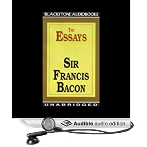 sir francis bacon essays of studies The essay of studies by sir francis bacon is the first essay in the series of ten essays published in 1597 later, it was revised in 1612 with the addition of some.