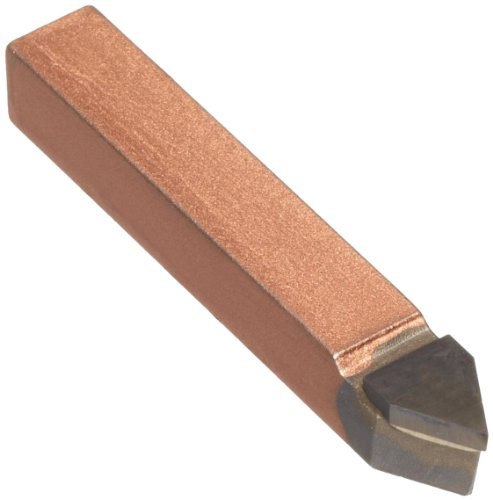 American Carbide Tool Carbide-Tipped Pointed Nose Utility Tool Bit, Neutral, 370 Grade, 0.375