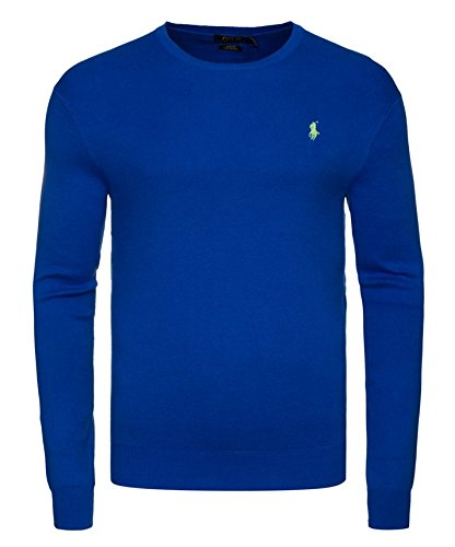 Polo Ralph Lauren Pullover, C-neck, Bleu Saturn (XL)
