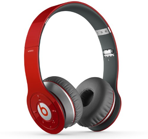 Beats Wireless On-Ear Headphone (Red)