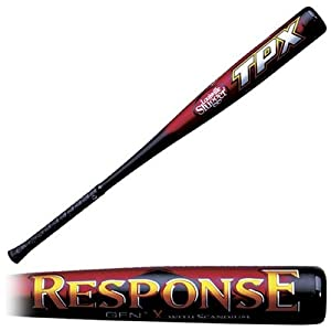 Louisville Slugger SL204 TPX Response GEN1X Senior League Baseball Bat (-8.5) by Luisville Slugger