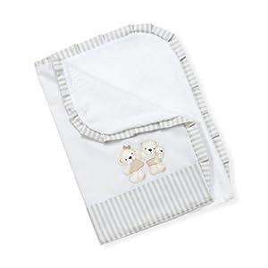 Arullo bebe 1 00% algodón, Oso Globos Beige de Tubebeonline - BebeHogar.com