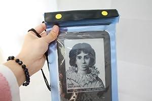 2-PACK | Waterproof Case and Waterproof Cover for Samsung Galaxy Tab | Google Nexus 7 | Kindle Fire HD