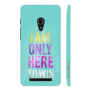 Enthopia Designer Hardshell Case The Champion Back Cover for Asus Zenfone 5