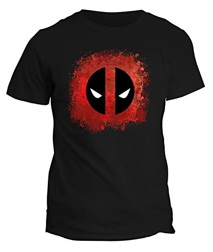 Tshirt Deadpool - supereroe -film t-shirt - in cotone by Fashwork