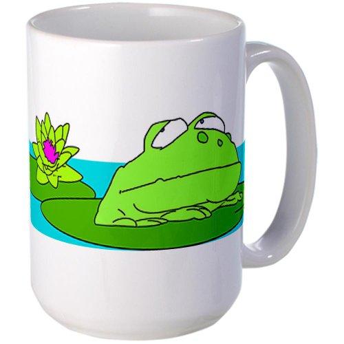 Cafepress Frog Large Mug Large Mug - Standard