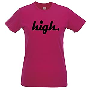 High T Shirt Hipster Cool Blazed Wasted Baked Dope Weed Swag Wasted Youth Smoke
