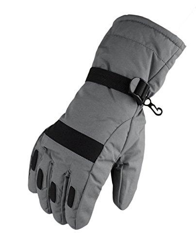 WATERFLY Fashion Men's Warm Waterproof Winter Outdoor Glove Cycling Gloves Biking Gloves Snowmobile Snowboard Ski Gloves Athletic Gloves Mittens