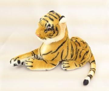 虎穴に入らずとも虎児を得る! かわいい動物ぬいぐるみ 虎児 30cmサイズ