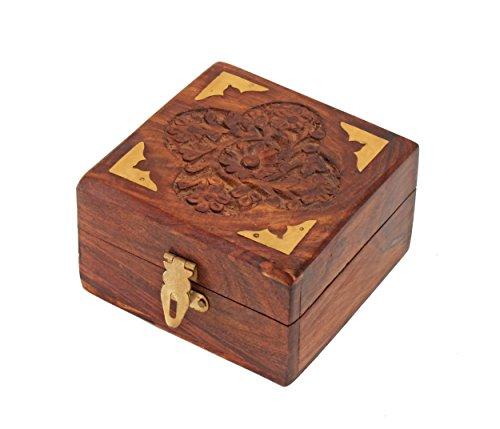 decorative-wooden-small-jewellery-trinket-box-handcrafted-multipurpose-keepsake-storage-organiser