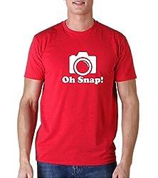 Snoogg Oh Snap ! Casual Slogan / Funny / Humor T shirts