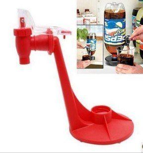 Party Fizz Saver Soda Dispenser Drinking Dispense Gadget Use W/2 Liter Bottle by E-buy