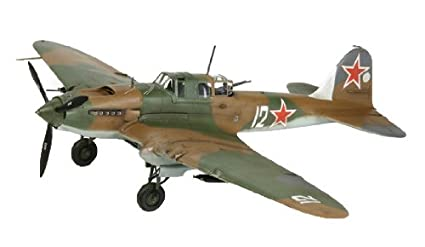 Tamiya - 60781 - Maquette - Aviation - Iliouchine Ii-2 Stourmovi