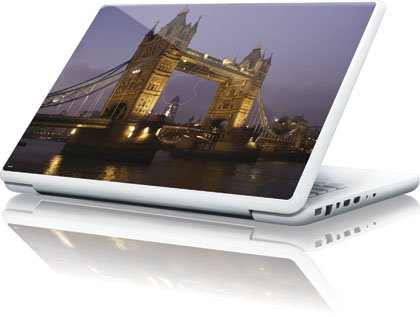Scenic Cities - London Tower Bridge - Apple Macbook 13-Inch - Skinit Skin