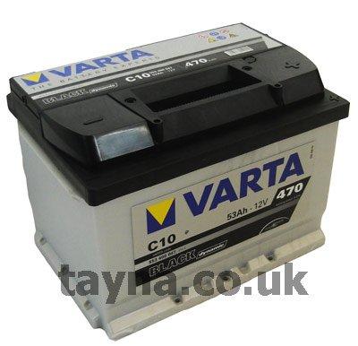 VARTA C10 Black Dynamic / Autobatterie /Batterie