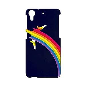 BLUEDIO Designer Printed Back case cover for HTC Desire 728 - G7659