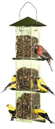Perky-Pet 110 Evenseed Silo Wild Bird Feeder