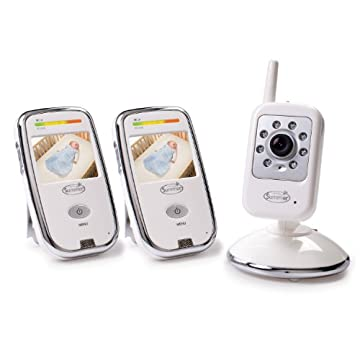 Summer Infant Dual Coverage Digital Color Video Monitor Set