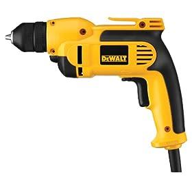 DEWALT DWD112 7.0 Amp 3/8-Inch VSR Pistol-Grip Drill with Keyless All-Metal Chuck