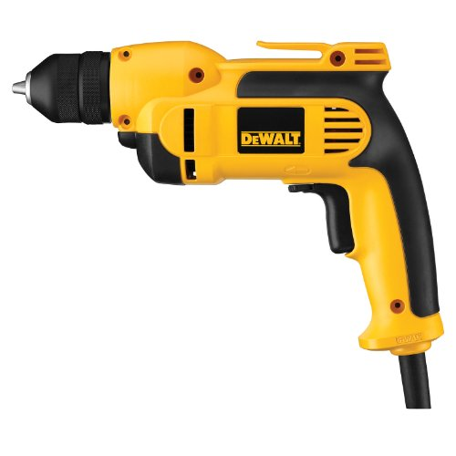 DEWALT DWD112 7.0 Amp 3/8-Inch VSR Pistol-Grip Drill with Keyless All-Metal Chuck