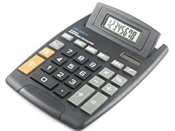 Calculator 8 Digit Big Display Large Button Adjustable LCD Screen 5.5\