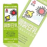 紀文 調製豆乳200ml紙パック×18本入×(2ケース)