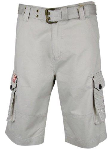 Mens Cargo Shorts Stone Tokyo Laundry Combat 32/M