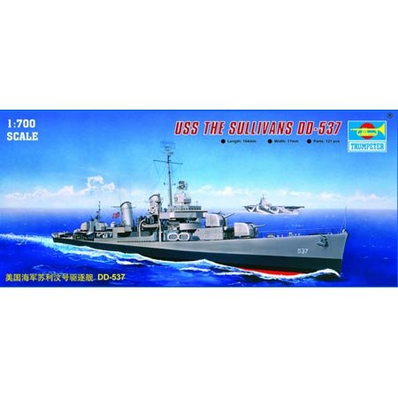 Trumpeter - USS Sullivans