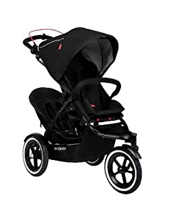 Phil and Teds Navigator Stroller WITH Face to Face Seat (Black)
